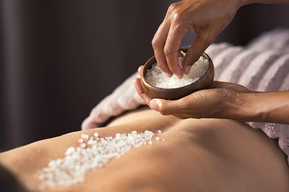 Salt Body Scrub at Anushka Spa in West Palm Beach, FL