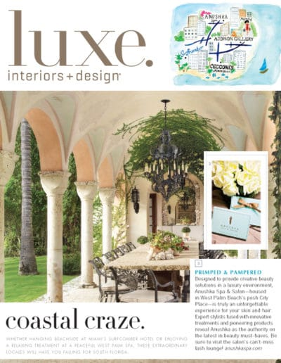 Luxe Interior Design Features The Anushka Spa September 2012