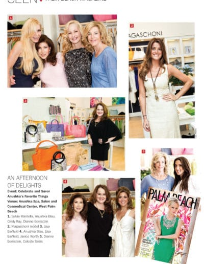 Palm Beach Illustrated Features Anushka's Favorite Things Party June 2012