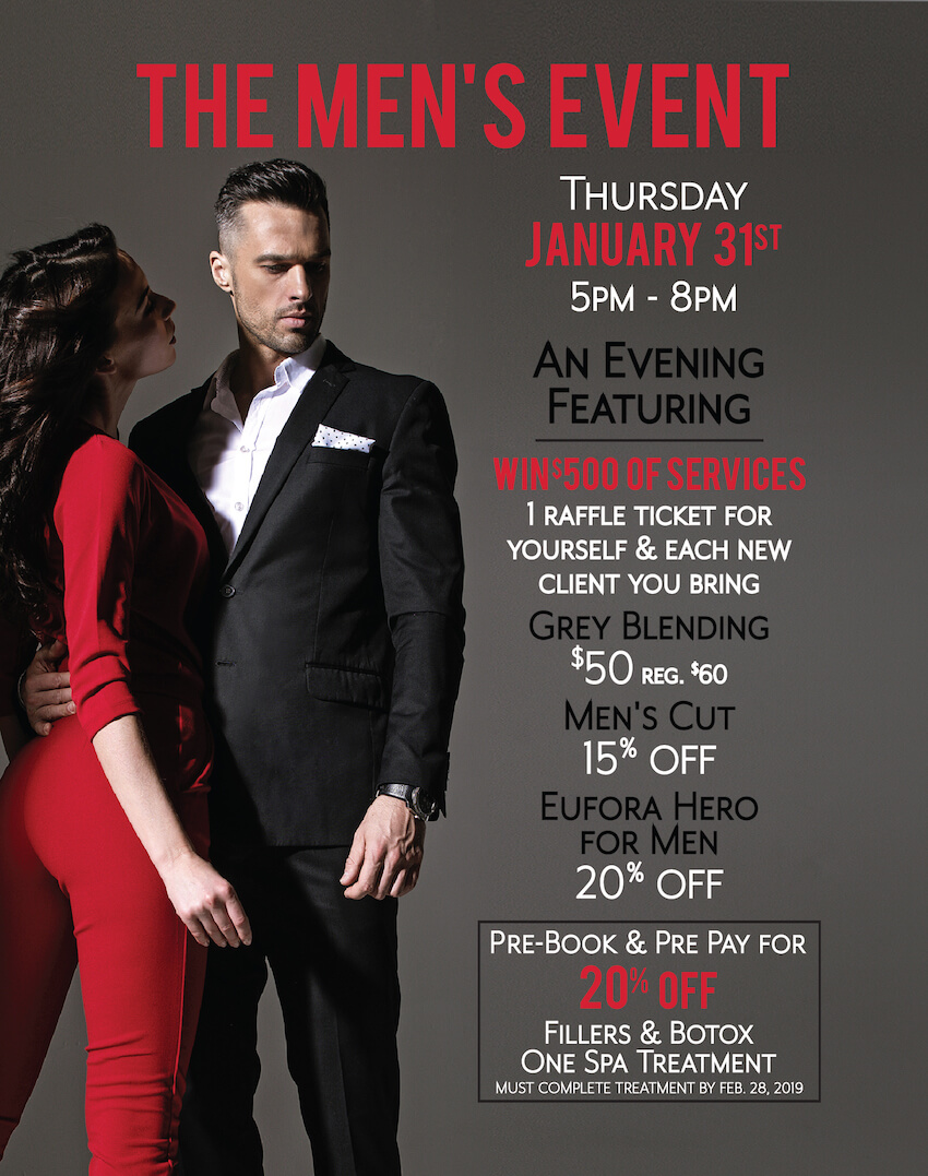 Anushka Spa, Salon, & Cosmedical Centre Men's Event