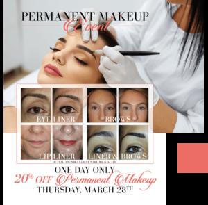 Permanent Makeup Event at Anushka Spa & Salon in West Palm Beach, FL