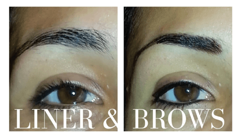 Permanent Makeup Eye Brow Liner