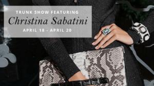 Christina Sabitini Trunk Show at Anushka Spa & Salon in West Palm Beach, FL
