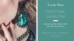 Cristina Sabitini Trunk Show Event at Anushka Spa in West Palm Beach, FL