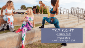 Try Right Athletic Wear Trunk Show in West Palm Beach, FL
