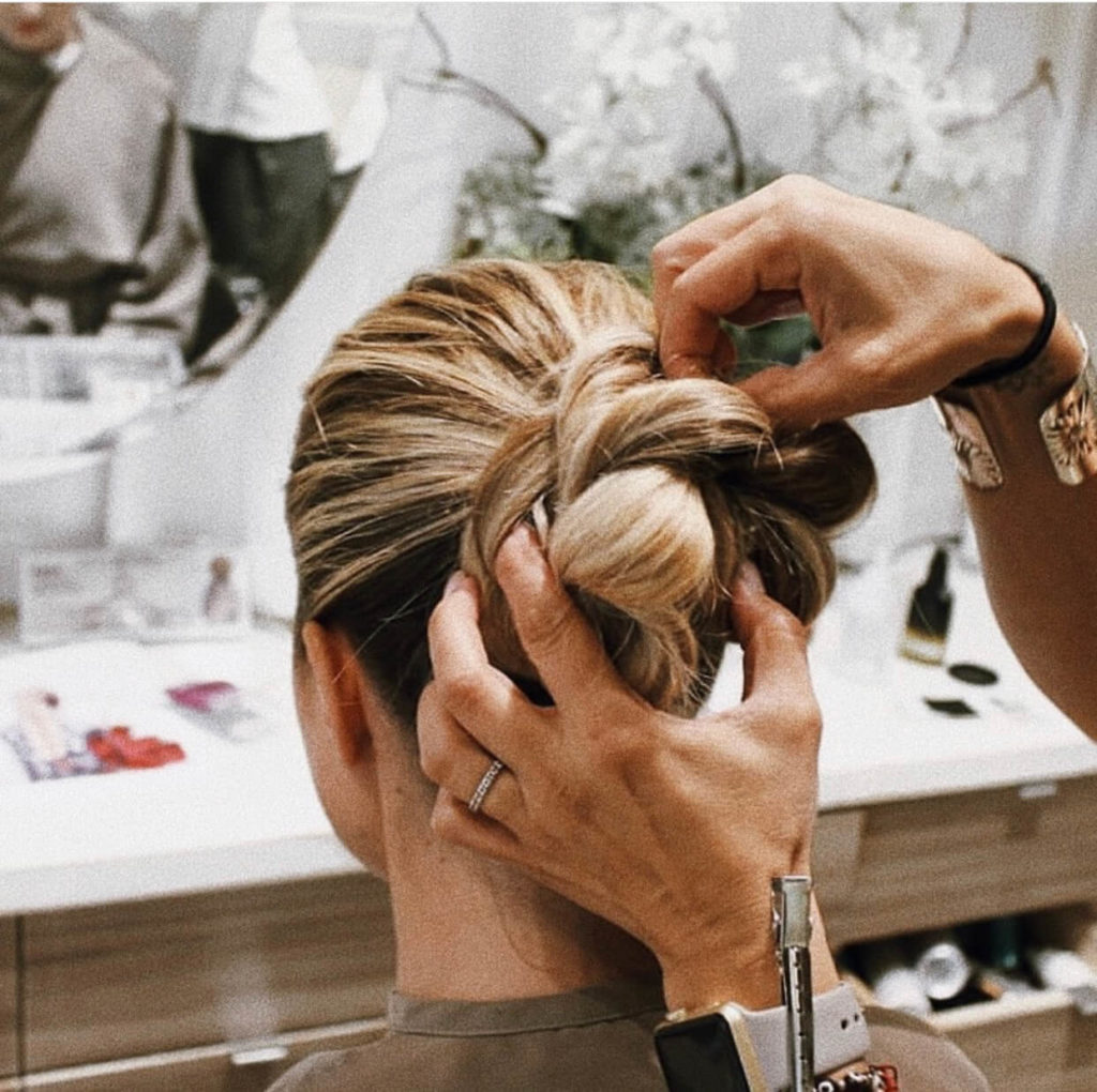 Wedding Hairstyle at Anushka Hair Salon