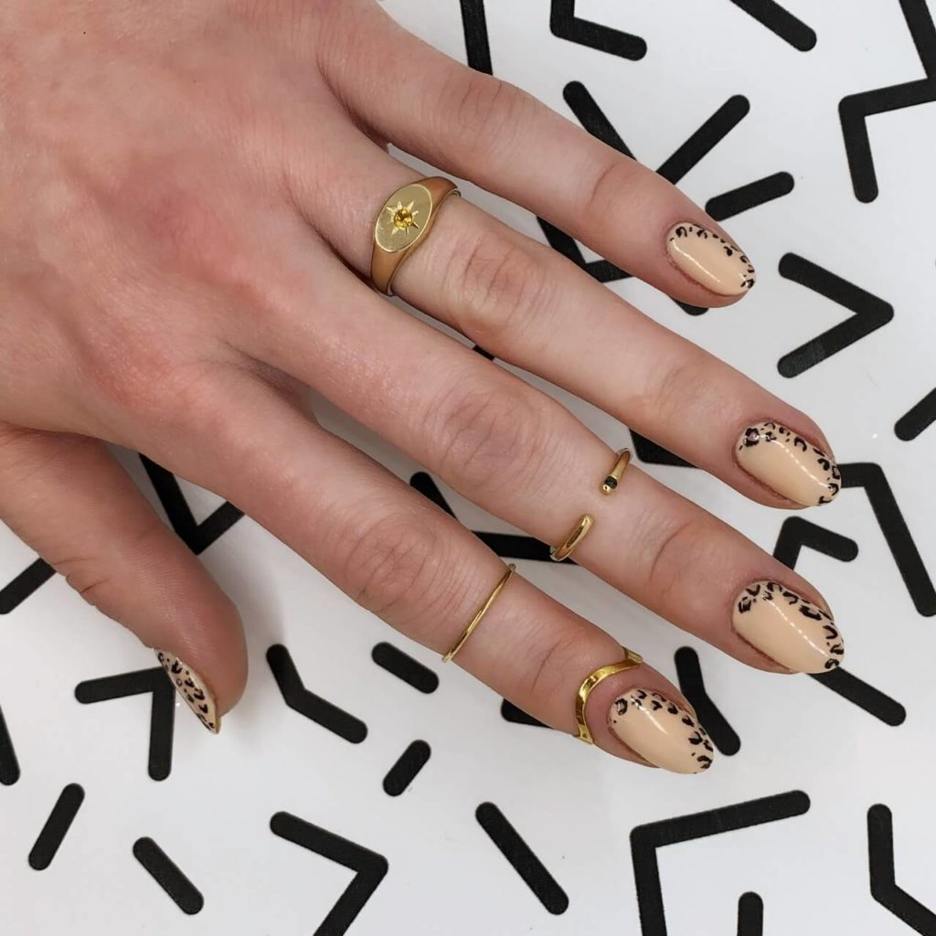 Animal Pattern Nail Designs - Nail Color Trends