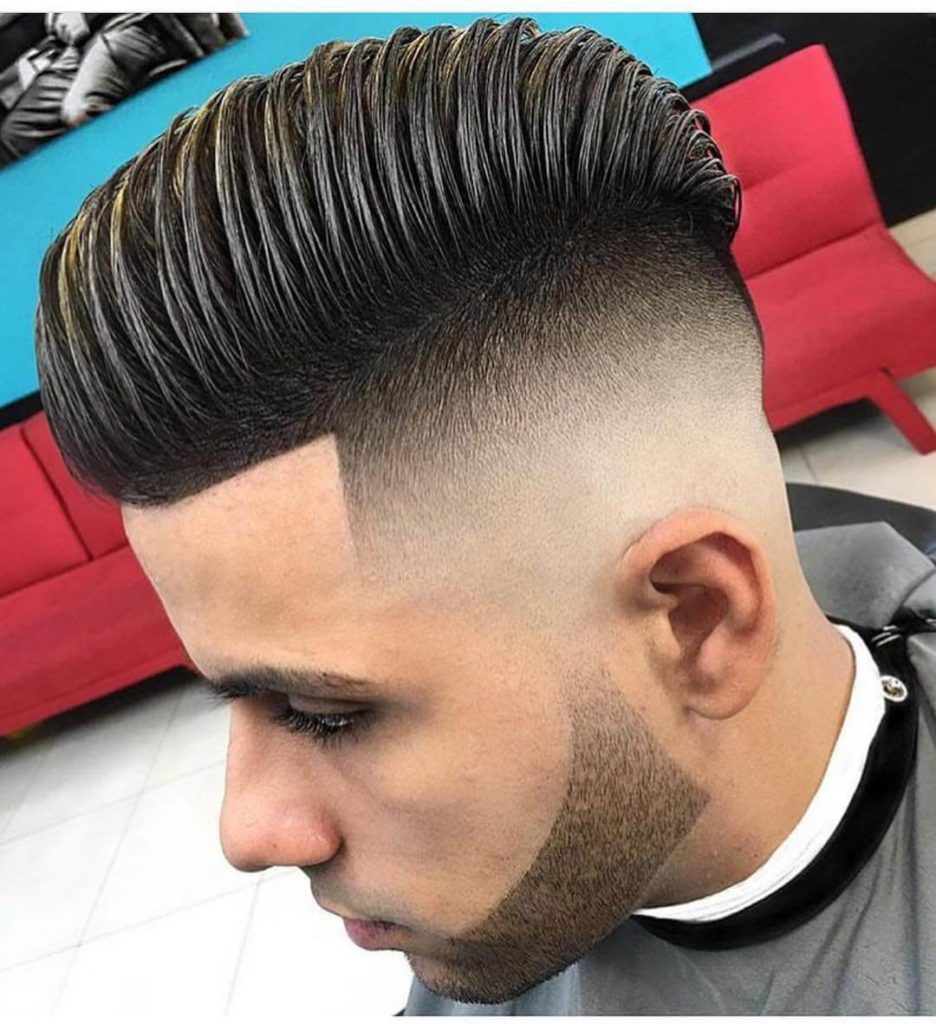 Mens Combover Hairstyle 2019