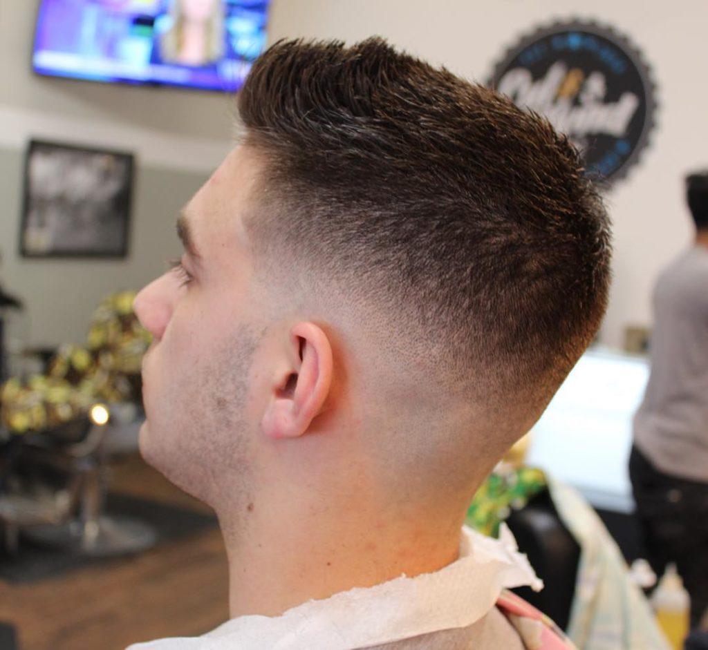 mens low fade hairstyle 2019