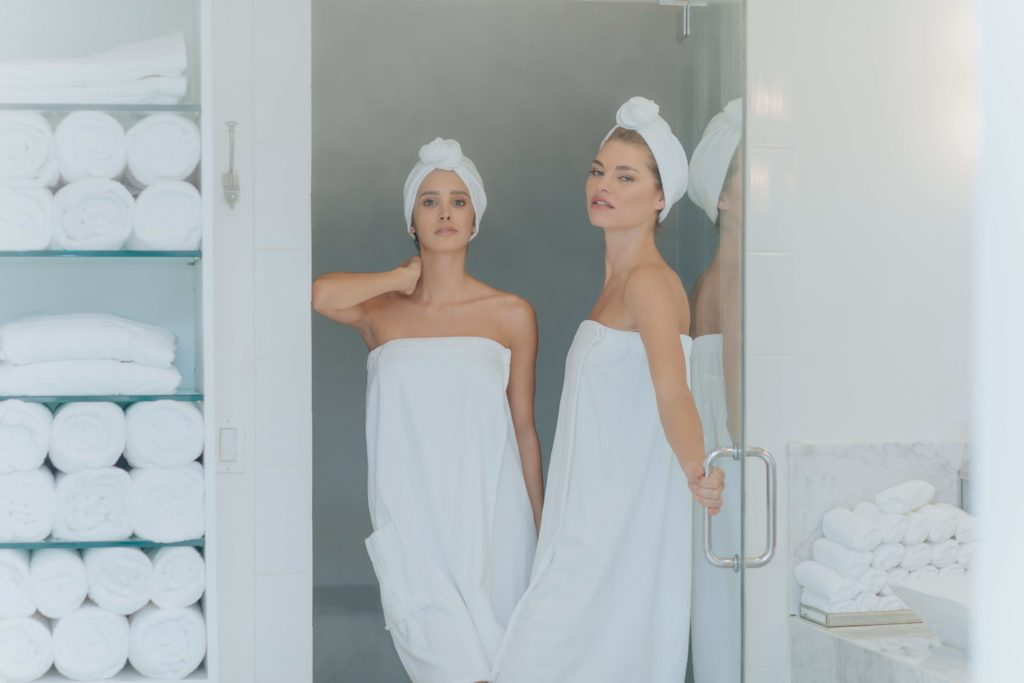 Two Women getting spa treatments at Anushka Spa