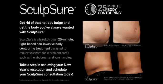 SculpSure Results after 6 weeks