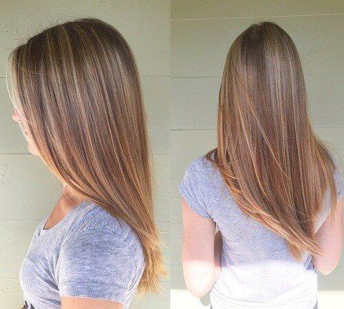 V-Cut Hair Style