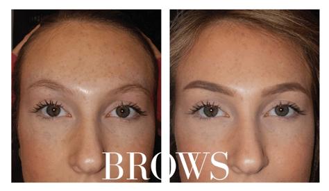 perm make up eyebrows
