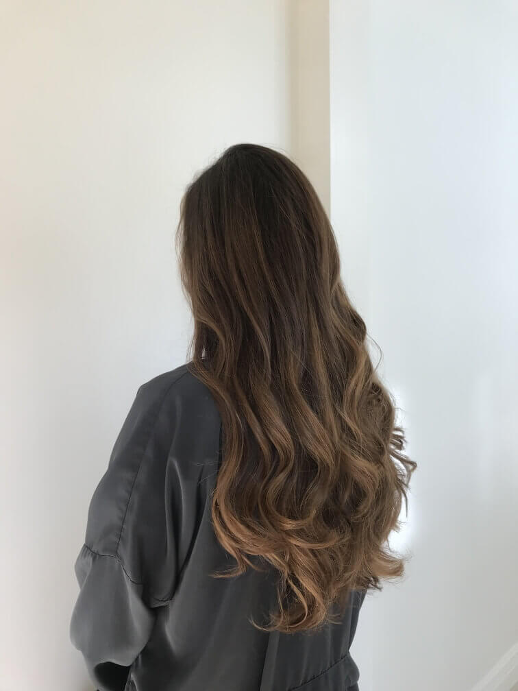 Vampy Brown Hairstyle for women