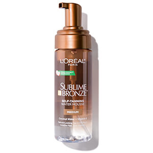 loreal skin care sublime mousse