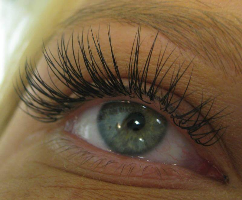 after eyelash extensions west palm beach
