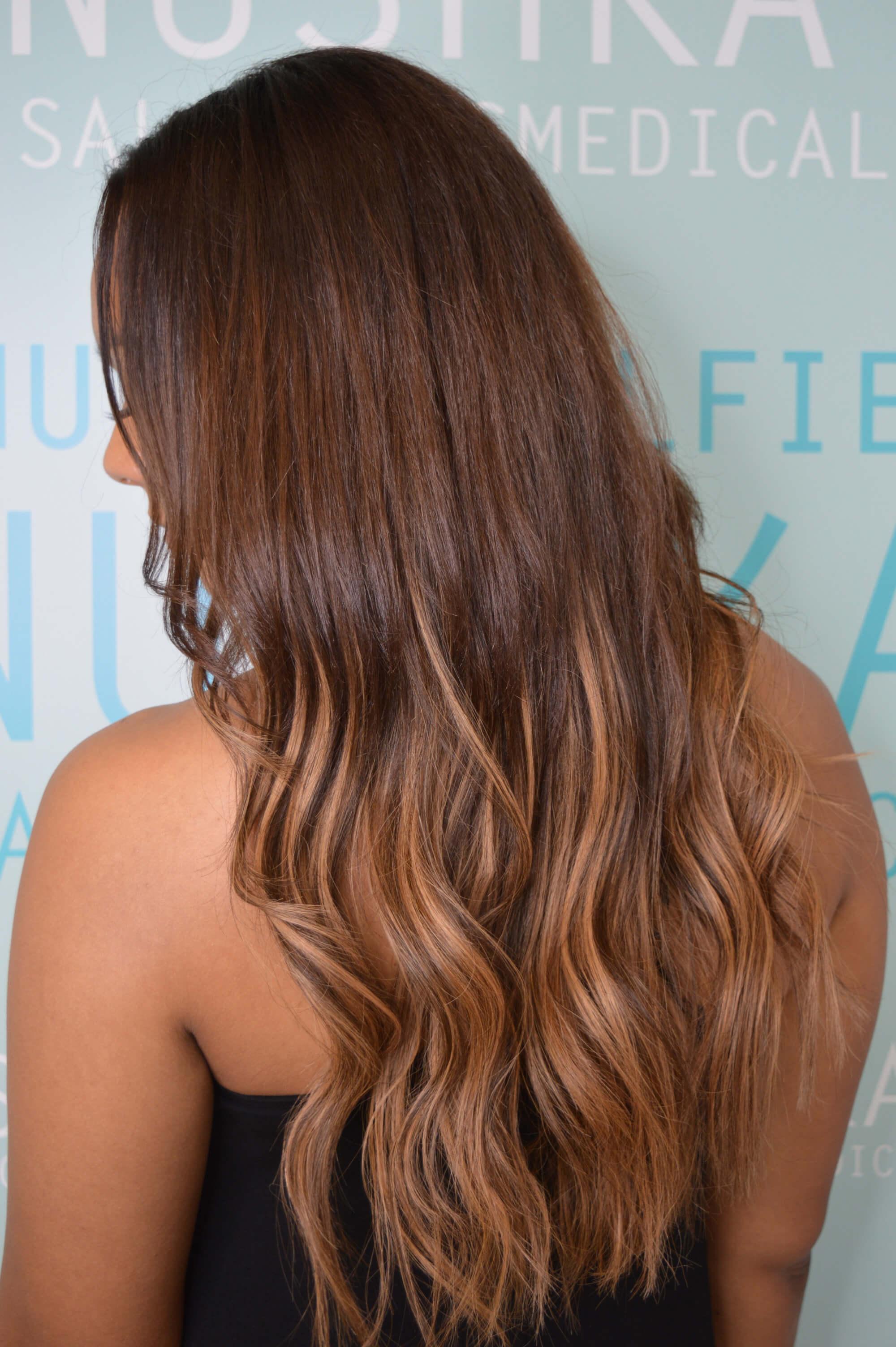 Platinum Seamless Hair Extensions