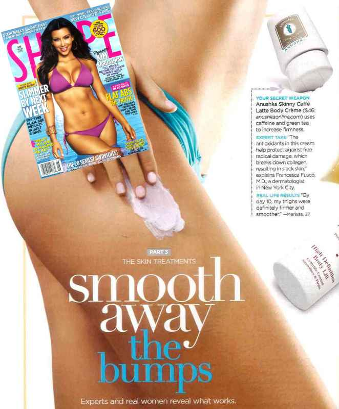 Shape Features Anushka Cellulite Serums June 2009