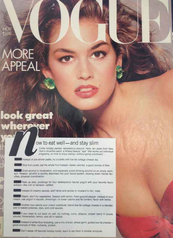 Vogue Features Anushka Spa and Salon November 1987