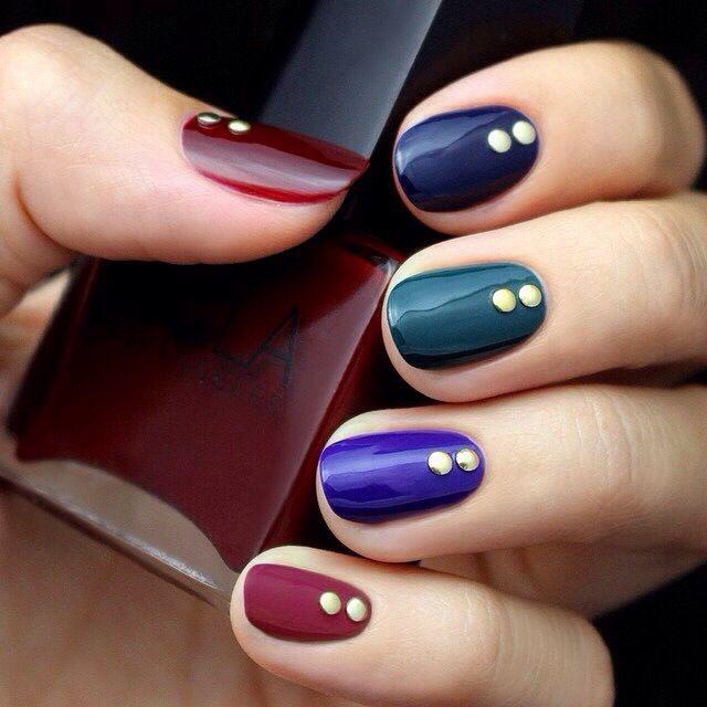 Jewel Tone Nails
