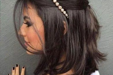 Pretty Hairstyles for Brides with Short Hair