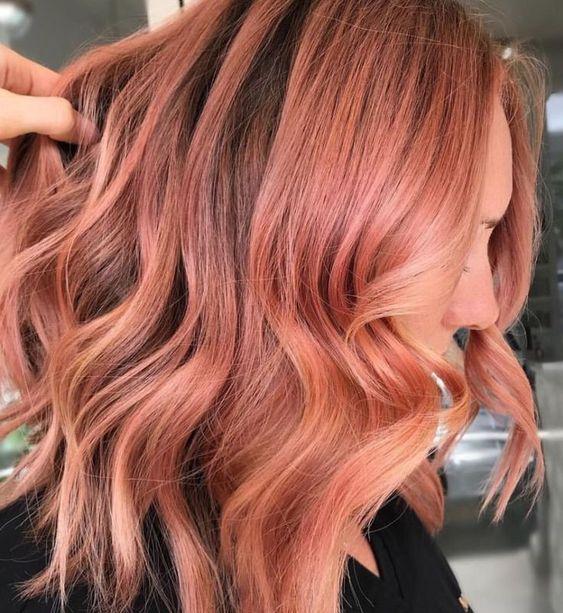 peachy