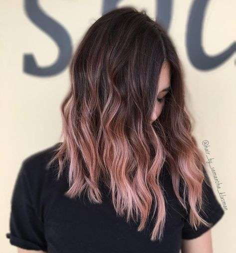 pink with shadow root