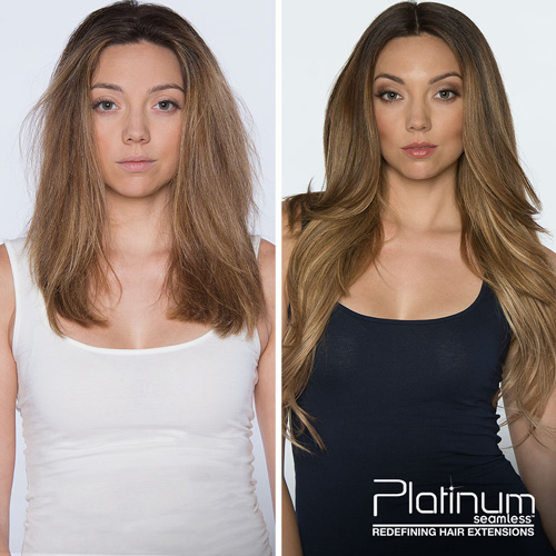 semi-permanent hair dye before and after