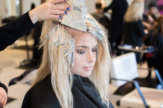 stylish blond