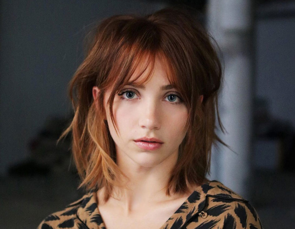 Wispy Bangs Might Be The Change You Need